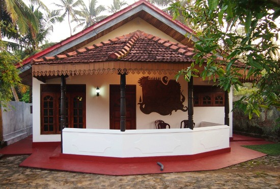 Sri Lankan house in Hikkaduwa