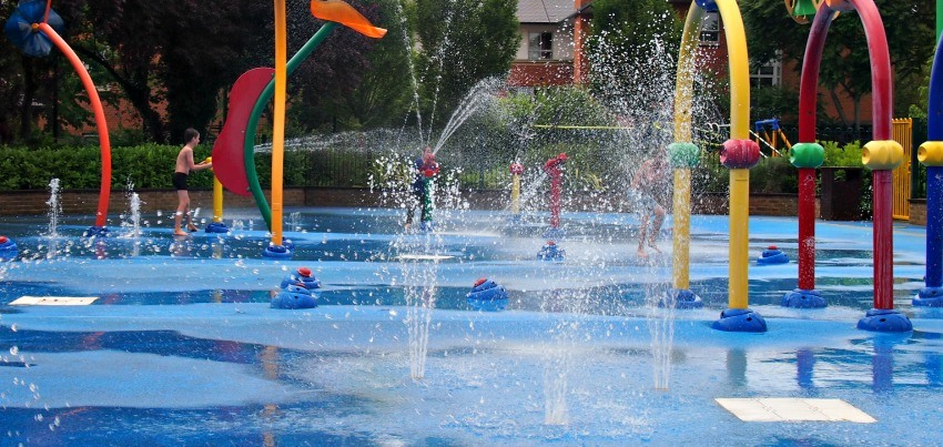 Hours of fun at the Malaysian water parks.