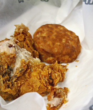 an american junk food favourite chicken and biscuits