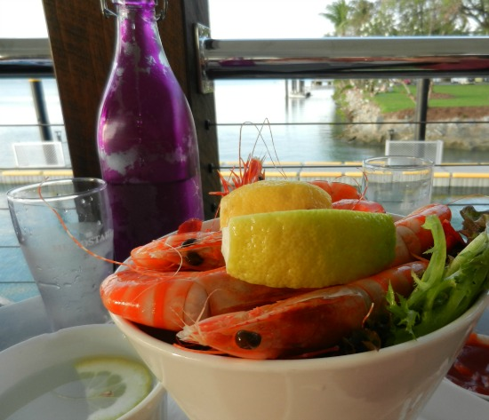 Where to eat in Port Douglas prawns on the deck