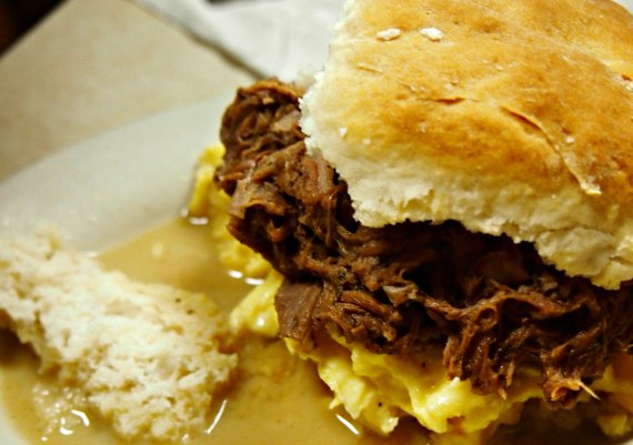 Southern style cooking on a deep south road trip. Biscuits