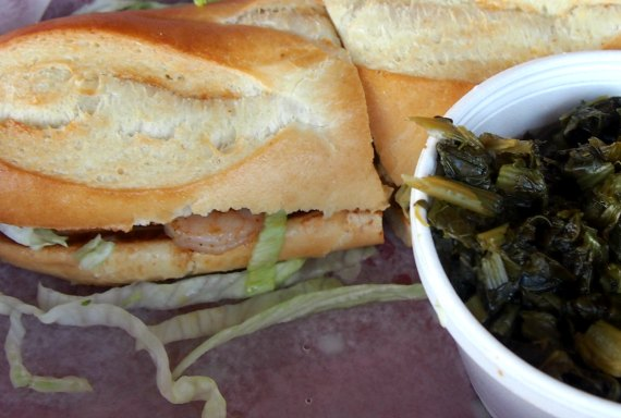 Southern style cooking on a deep south road trip. Po'boys