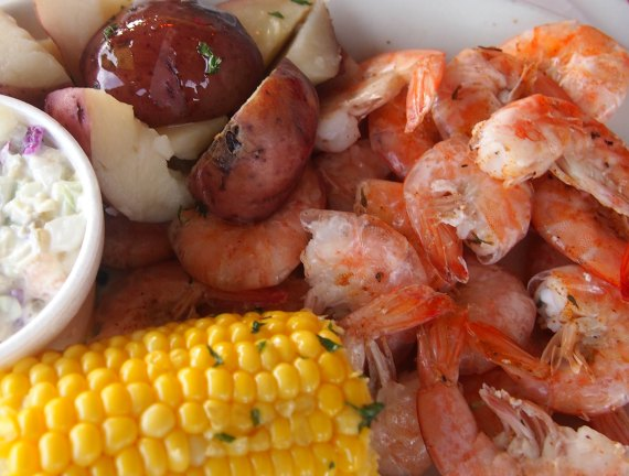 Southern style cooking on a deep south road trip. Southern Boil
