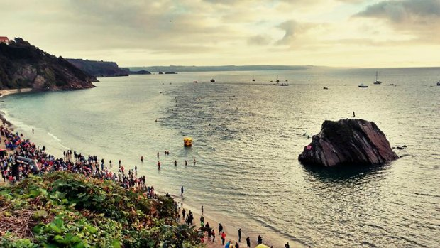 Which Ironman to choose. Will it be Tenby Pembrokeshire Wales Ironman Swim