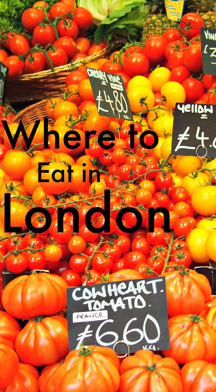Where to eat in London.