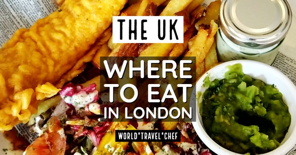 Where to eat in London England