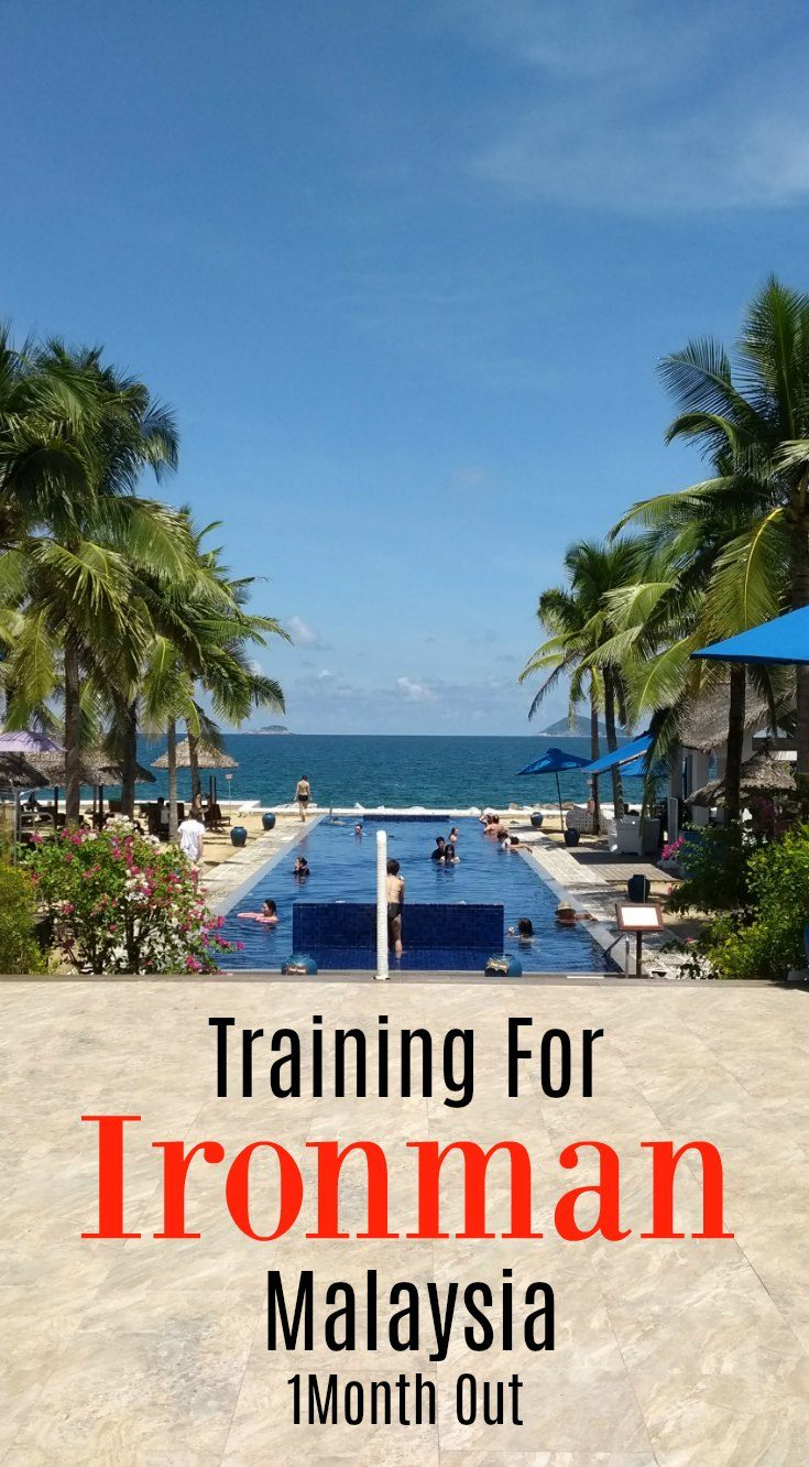 Ironman Malaysia training plan, 1 month out.
