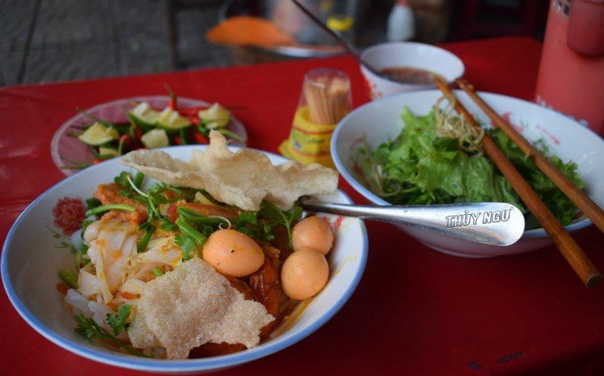 Guide to Vietnamese food mi quang