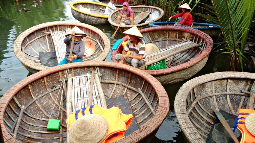 Coracle rides Hoi An