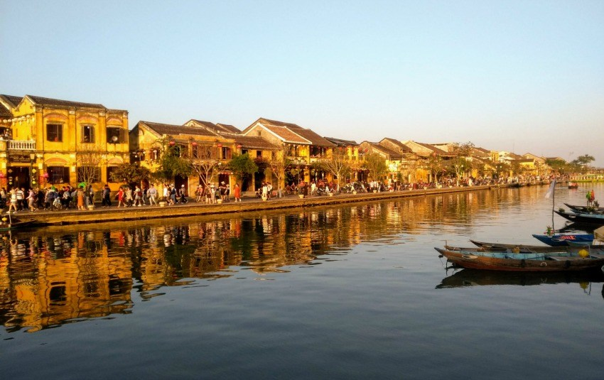 Hoi An Vietnam Waterfront