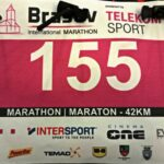 Brasov International Marathon race bib