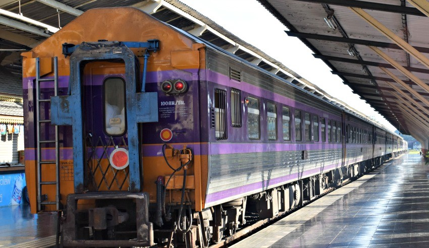Getting from Siem Reap from Bangkok by train.