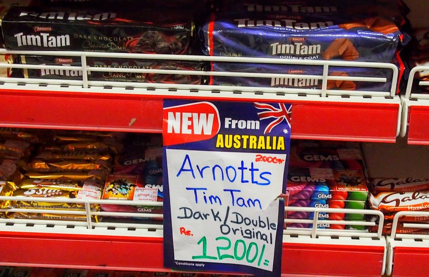 Traditional Australian Biscuits Tim Tams