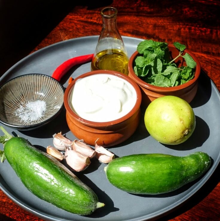 tzatziki recipe ingredients