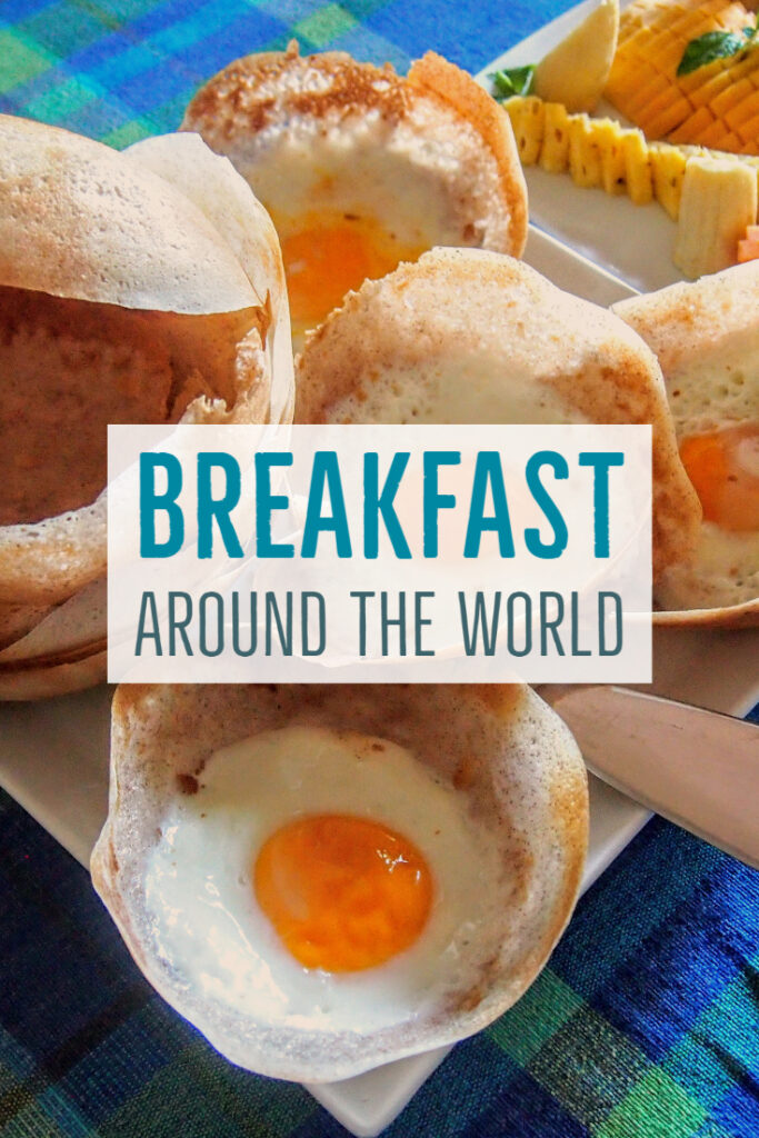 Breakfast Around The World Chef pin