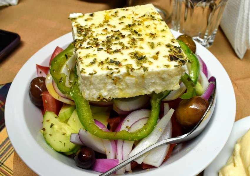 What To Eat in Greece Greek Salad