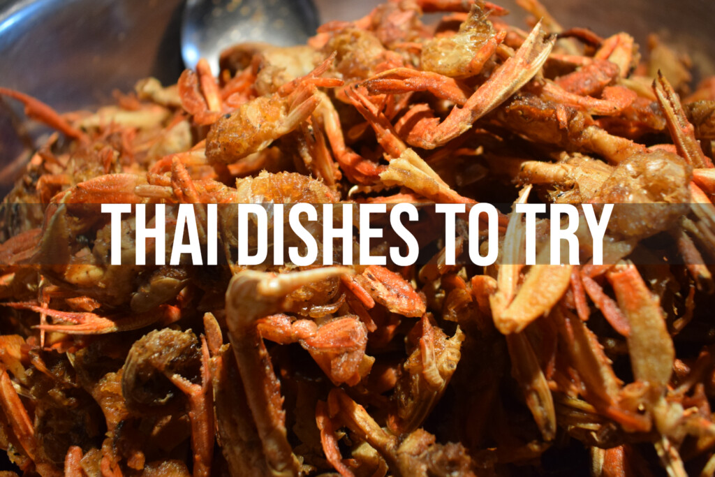 Thai dishes to try soft shell crab