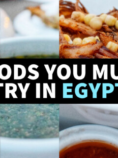 foods you must try in Egypt